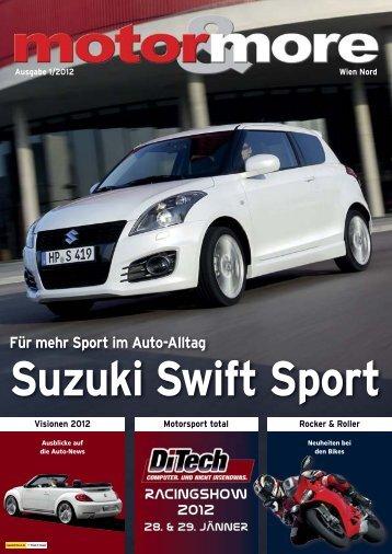 Für mehr Sport im Auto-Alltag - Motor & more