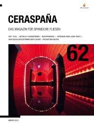 Das Magazin für spanische fliesen - CERASPAÑA