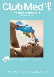 Sommer 2012 - Club Med
