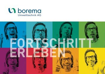 Borema Openhous - Fortschritt erleben - HP Rey AG