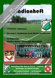 Ausgabe 1 / 2011 - TSV Armsheim-Schimsheim