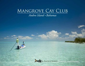 brochure - Mangrove Cay Club