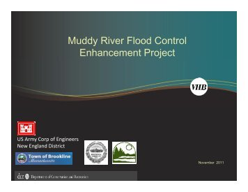 Muddy River Flood Risk Management and Environmental ...