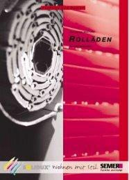Rolladen - Hartmann Markisen