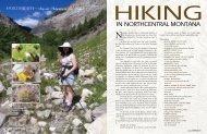 Hiking - Signature Montana