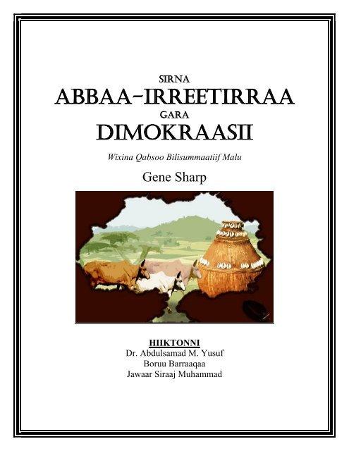 ABBAA-IRREETIRRAA DIMOKRAASII - Albert Einstein Institution