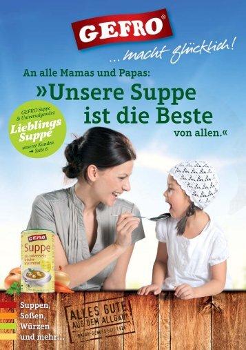 Suppen - Gefro.de