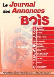Télécharger les annonces - Le Bois International
