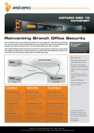 Reinventing Branch Office Security