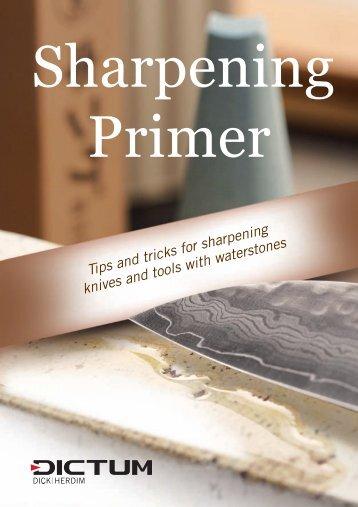 Download the Sharpening Primer in PDF - DICTUM GmbH