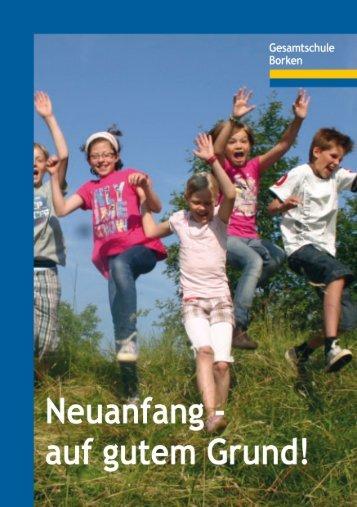 Flyer zu Borkener Gesamtschule - Stadt Borken