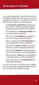 Dokumentation der Jugendaudits in Steglitz ... - mehr als lernen - Seite 3