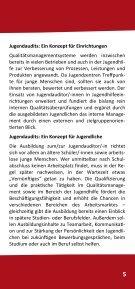 Dokumentation der Jugendaudits in Steglitz ... - mehr als lernen - Seite 5