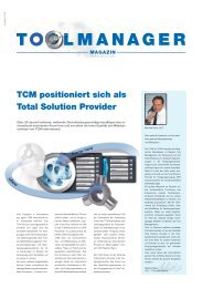 TCM positioniert sich als Total Solution Provider - TCM International