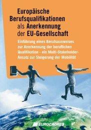 Europäische Berufsqualifikationen als Anerkennung ... - Eurocadres