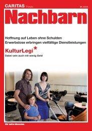 Magazin Nachbarn, Nr. 2 2010 - Caritas Thurgau