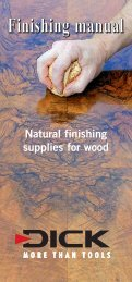 Download the Natural Finishing Manual in PDF
