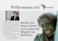 Willkommen bei - Biovision