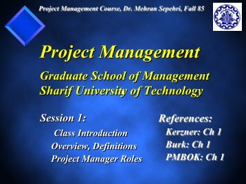 In Search Of Excellence In Project Management – GSME