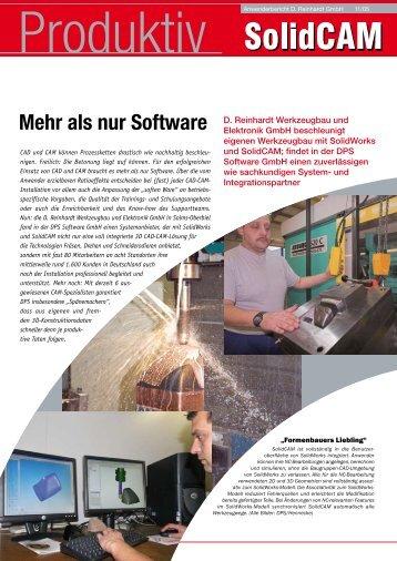 Mehr als nur Software - SolidCAM
