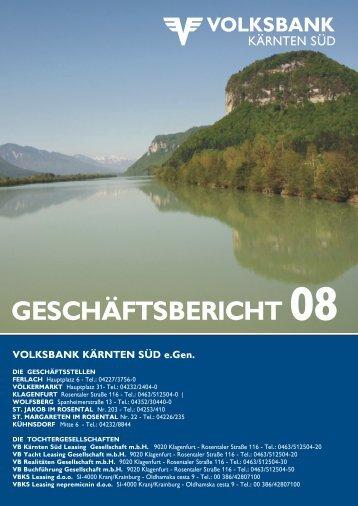 Volksbank-Saal für Ferlach - Volksbank Kärnten Süd