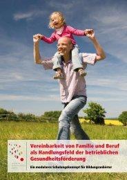 Vereinbarkeit von Familie und Beruf als Handlungsfeld der ...
