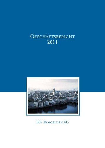 GESCHÄFTSBERICHT - BSZ Immobilien AG