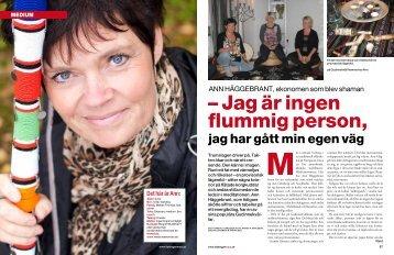 – Jag är ingen flummig person, - Hans Karlsson