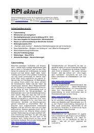 Ausgabe 7-2010 - Evangelische Landeskirche in Baden