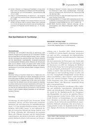 DLR | Februar 2009 « Neue Spezifikationen für Trachthonige ... - QSI