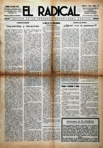 52. El Radical, 51 - Institución Fernando el Católico