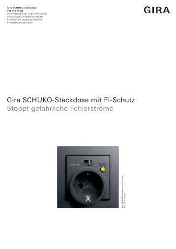 steckdosen gira free gira with steckdosen gira affordable cool gira abdeckung system standard. Black Bedroom Furniture Sets. Home Design Ideas