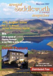 Front Cover SpinnedNEW - Around Saddleworth Magazine