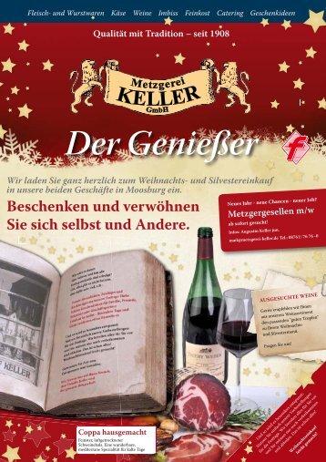 Dezember 2010 ... - Metzgerei Keller
