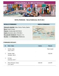 Royal Princess, Marea Mediterana 05.07.2013 - Gorj Tourism