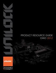 2012 Unilock Product Resource Guide (Ohio) - Outdoor Living by Mr ...