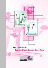 LEXA – Profi-Lift Das Multitalent unter den Liften