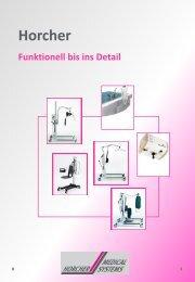 Präsentation Patientenlifter - Horcher GmbH - Reha Systeme