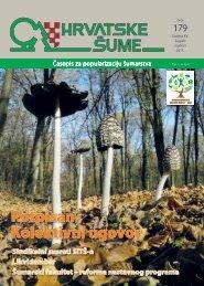Prijelaz Mediterana prema planinskoj klimi - Hrvatske šume