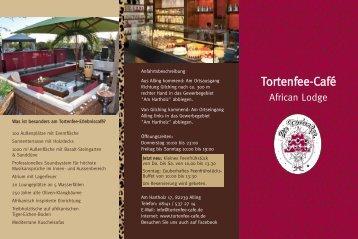 Aktueller Flyer - Tortenfee Café