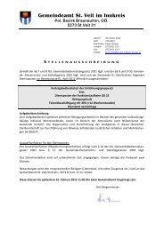 Gemeindeamt St. Veit im Innkreis - Gemeinde St. Veit/Innkreis