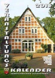 Veranstaltungskalender 2013 - Samtgemeinde Horneburg