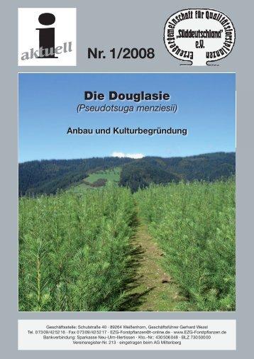 Die Douglasie (Pseudotsuga menziesii) Anbau und ... - EZG