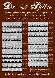 Alle Artikel aus 100% Baumwolle - HOSSNER TEXTIL GmbH