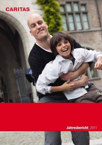 Jahresbericht 2011 Caritas Thurgau