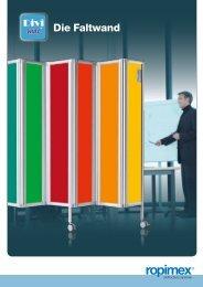 Die Faltwand - H + S Bürosysteme