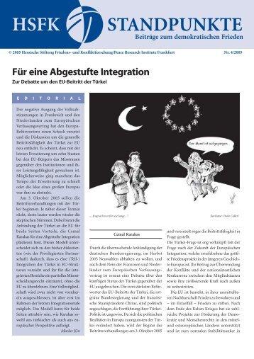 Für eine Abgestufte Integration - HSFK