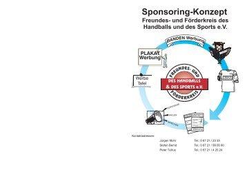 Sponsoring-Konzept - HSG Rhein-Nahe Bingen
