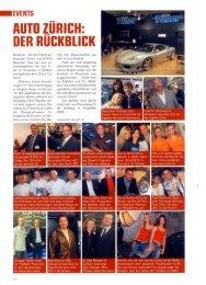 AUTO ZURICH: DER RUCKBLICK - Cartech