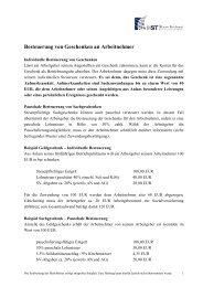 Merkblatt Geschenke an Arbeitnehmer zum Download - HST Hanse ...